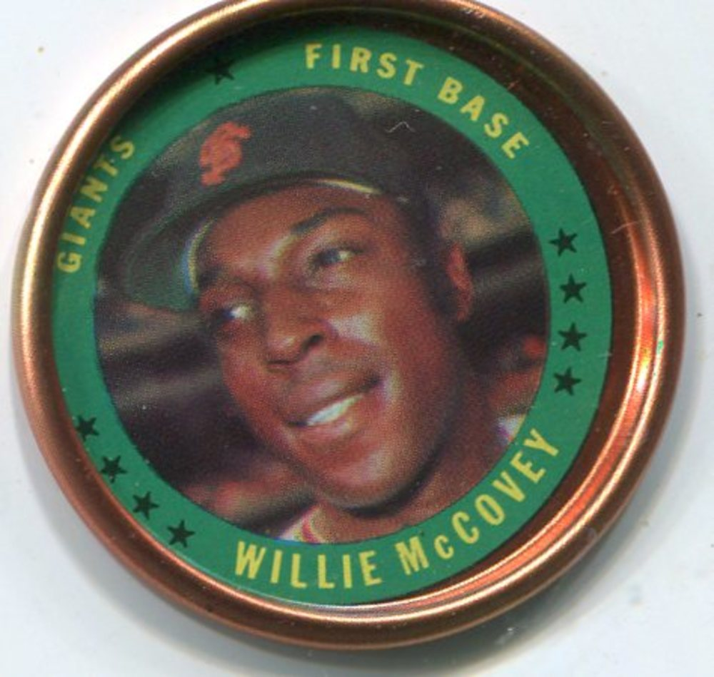 1971 Topps Coins #57 Willie McCovey