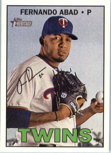 Photo of 2016 Topps Heritage #613 Fernando Abad
