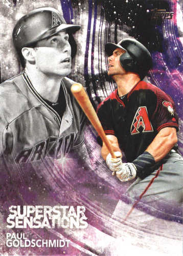 Photo of 2018 Topps Superstar Sensations #SSS34 Paul Goldschmidt