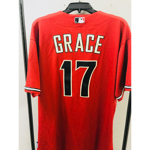 Photo of Team-Issued Mark Grace Jersey  - Size 48