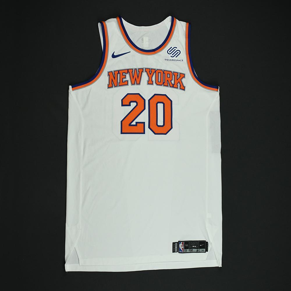 Doug McDermott - New York Knicks - NBA Christmas Day '17 Game-Worn Jersey