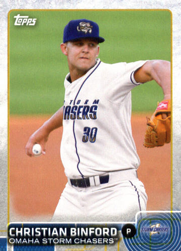 Photo of 2015 Topps Pro Debut #83 Christian Binford