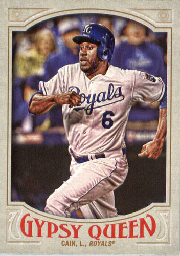 Photo of 2016 Topps Gypsy Queen #127 Lorenzo Cain