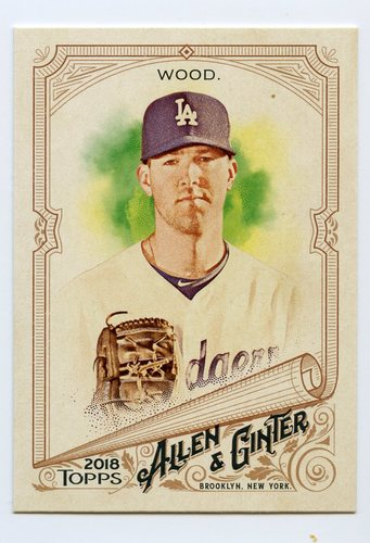 Photo of 2018 Topps Allen and Ginter #87 Alex Wood