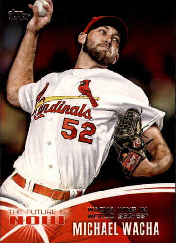 Photo of 2014 Topps The Future is Now #FN33 Michael Wacha
