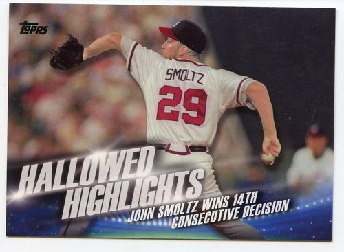Photo of 2016 Topps Hallowed Highlights #HH3 John Smoltz