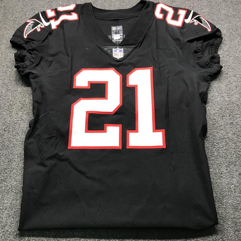 NFL Auction | Crucial Catch - Falcons Desmond Trufant Game Worn ...