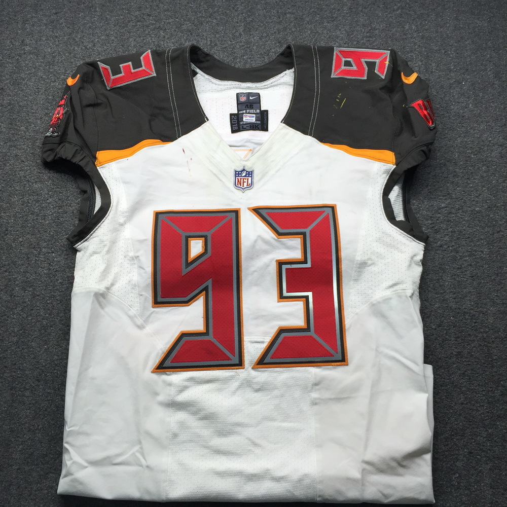 NFL Auction | STS - Buccaneers Gerald McCoy Game Used Jersey Size ...