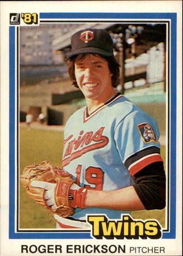 Photo of 1981 Donruss #549 Roger Erickson