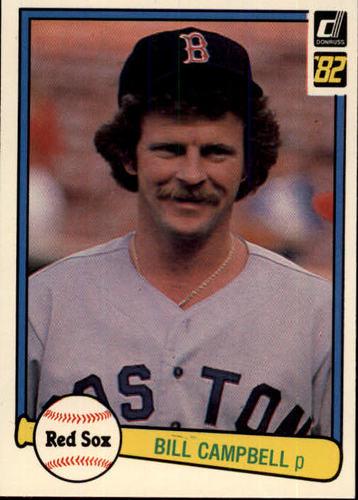 Photo of 1982 Donruss #487 Bill Campbell
