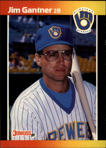 Photo of 1989 Donruss #264 Jim Gantner