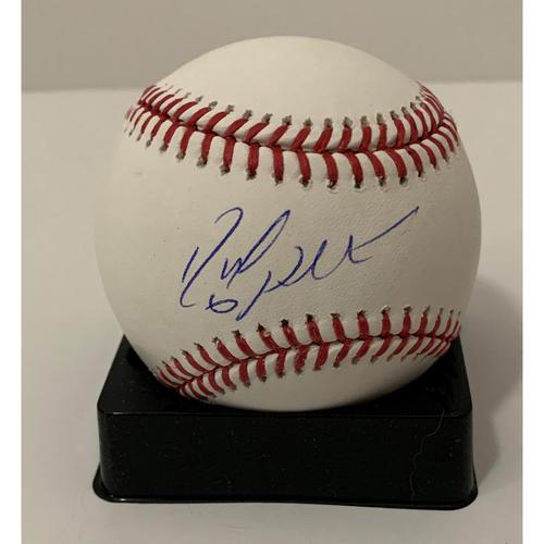 Photo of David Peralta Autographed Ball