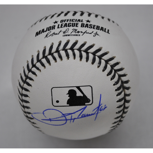 Photo of MLB Opening Day Auction Supporting The Players Alliance - Black Lives Matter Baseball signed by Touki Toussaint