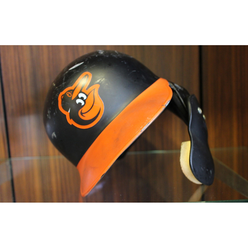 Photo of Trey Mancini - Road Batting Helmet - Team Issued
