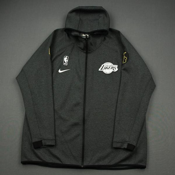 Image of JaVale McGee - Los Angeles Lakers - 2020 NBA Finals - Game-Issued Hooded Warmup Jacket