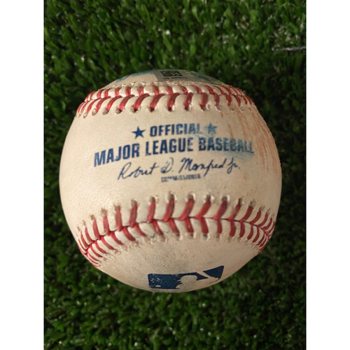 Photo of Bryce Harper Game Used Hit Double Baseball - May 7, 2021 off Carl Edwards Jr.