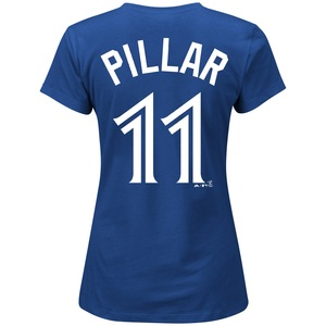 Toronto Blue Jays Women's Kevin Pillar Player T-shirt by Majestic