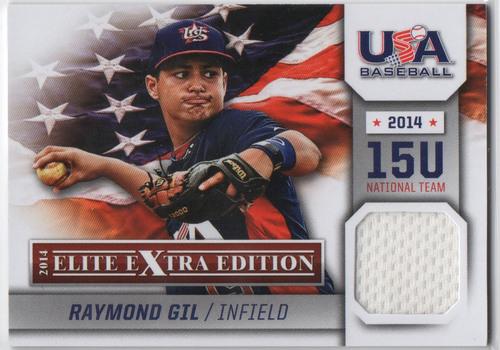 Photo of 2014 Elite Extra Edition USA Baseball 15U Game Jerseys #7 Raymond Gil