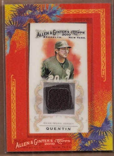 Photo of 2010 Topps Allen and Ginter Relics #CQ Carlos Quentin