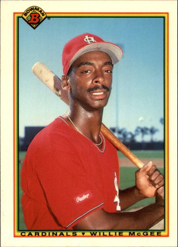 Photo of 1990 Bowman Tiffany #194 Willie McGee