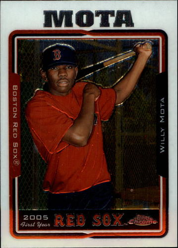 Photo of 2005 Topps Chrome Update #164 Willy Mota FY RC