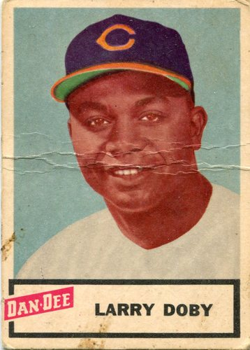 Photo of 1954 Dan-Dee #4 Larry Doby -- Hall of Famer
