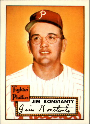 Photo of 1983 Topps 1952 Reprint #108 Jim Konstanty