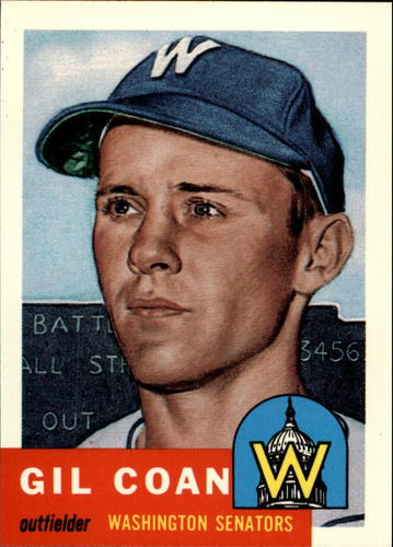 Photo of 1991 Topps Archives 1953 #133 Gil Coan