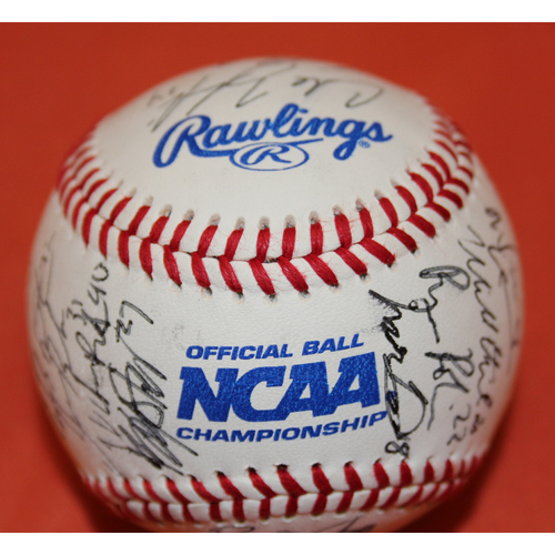 Photo of Autographed Ole MissTeam 2017 SHC College Classic Baseball - Not MLB Authenticated