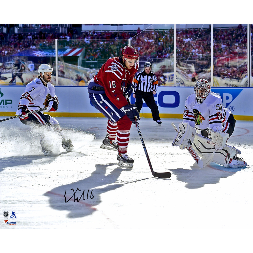 Eric Fehr Washington Capitals Autographed 2015 Winter Classic 16