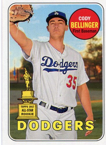 Photo of 2018 Topps Heritage #118 Cody Bellinger