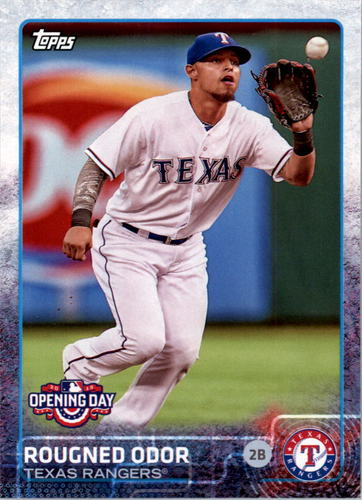 Photo of 2015 Topps Opening Day #50 Rougned Odor