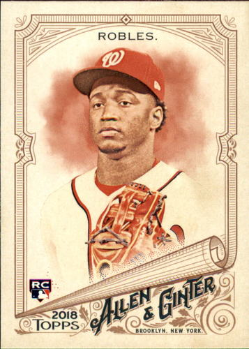 Photo of 2018 Topps Allen and Ginter #95 Victor Robles RC