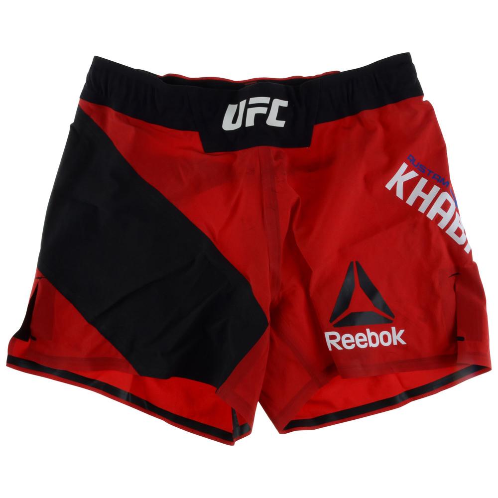 Rustam Khabilov Autographed UFC Fight Night: Arlovski vs. Barnett Fight-Worn Shorts - Defeated Leandro Silva via Unanimous Decision