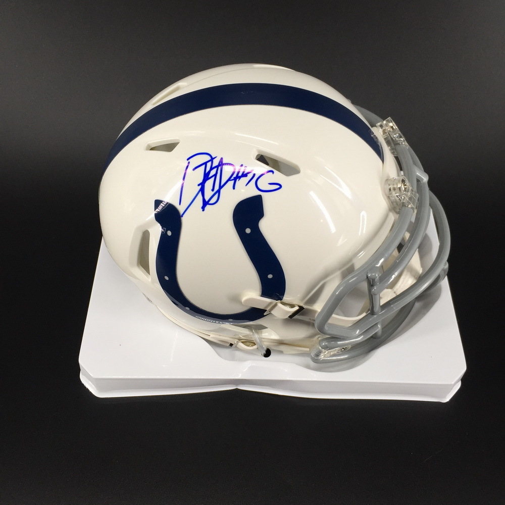 NFL - Colts Daurice Fountain Signed Mini Helmet