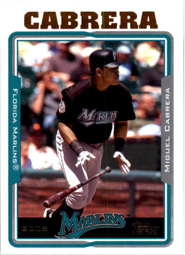 Photo of 2005 Topps #240 Miguel Cabrera