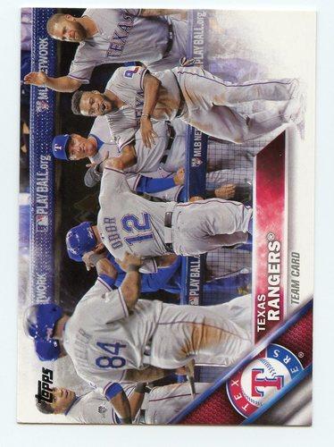Photo of 2016 Topps #552 Texas Rangers