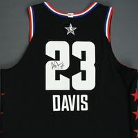 Anthony Davis - 2019 NBA All-Star Game - Team LeBron - Autographed Jersey