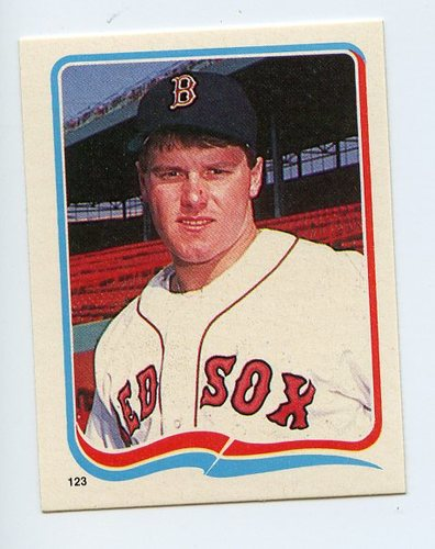 Photo of 1985 Fleer Star Stickers #123 Roger Clemens