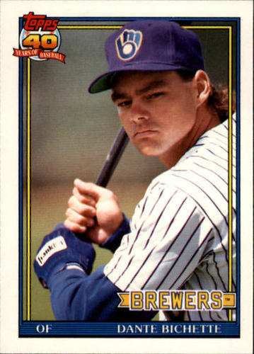 Photo of 1991 Topps Traded #10T Dante Bichette