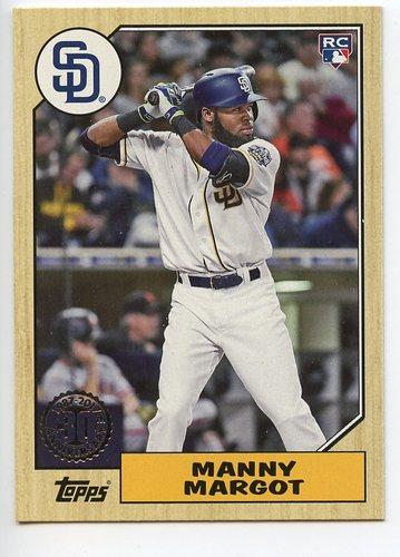 Photo of 2017 Topps '87 Topps #87102 Manny Margot