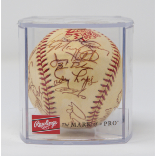 Photo of 1998 Padres World Series Team Autographed Baseball (NOT MLB AUTHENTICATED)