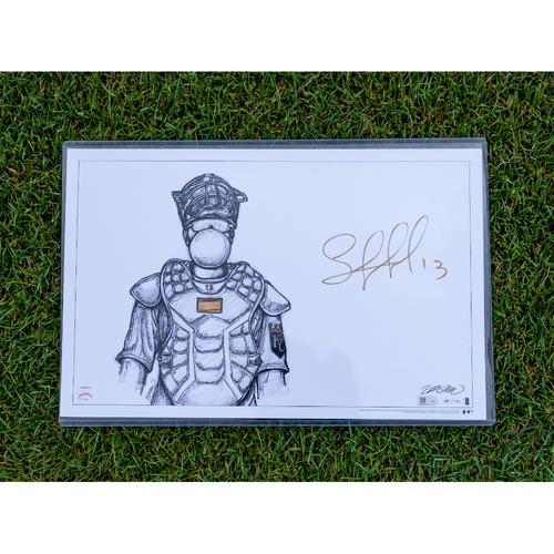 Photo of Royals Respond Charity Auction: Salvador Perez Autographed 11x17 Print