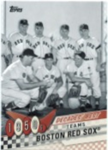 Photo of 2020 Topps Decades' Best Series 2 #DB4 Boston Red Sox