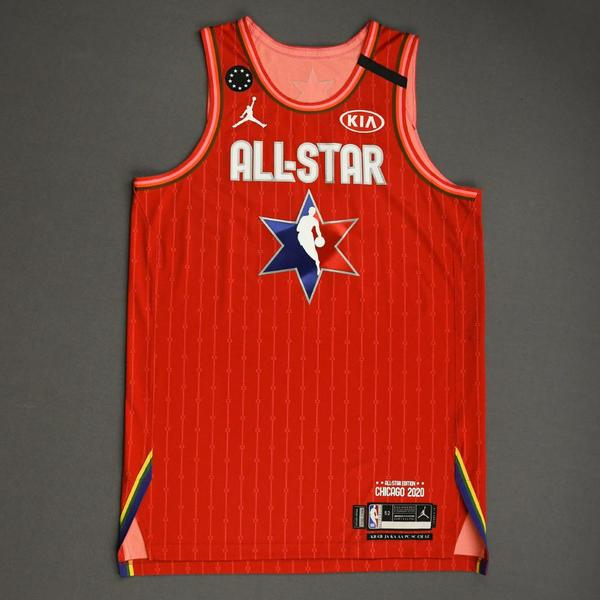 Image of PascalSiakam - 2020 NBA All-Star - Team Giannis - Autographed Jersey