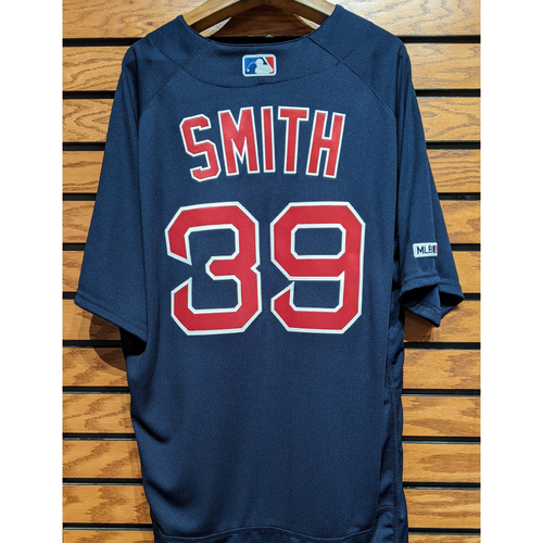 Photo of Carson Smith #39 Team Issued Navy Road Alternate Jersey