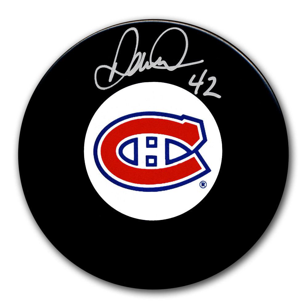 Darcy Tucker Montreal Canadiens Autographed Puck