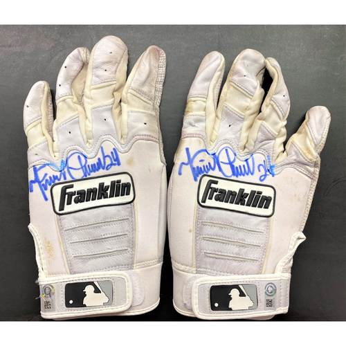 Photo of Cabrera Exclusive! Miguel Cabrera Autographed Pair of Batting Gloves (MLB AUTHENTICATED)