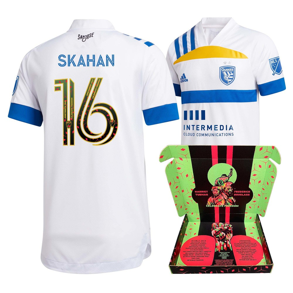 Jack Skahan San Jose Earthquakes Player-Issued & Signed