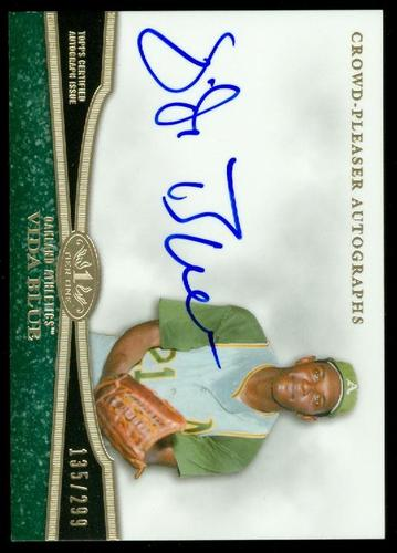 Photo of 2013 Topps Tier One Crowd Pleaser Autographs #VB1 Vida Blue/299